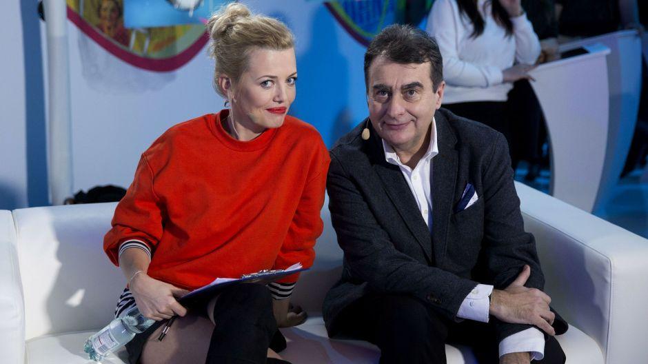 Paweł Sztompke oddał swój głos na Agnieszkę (fot. TVP/N. Młudzik)