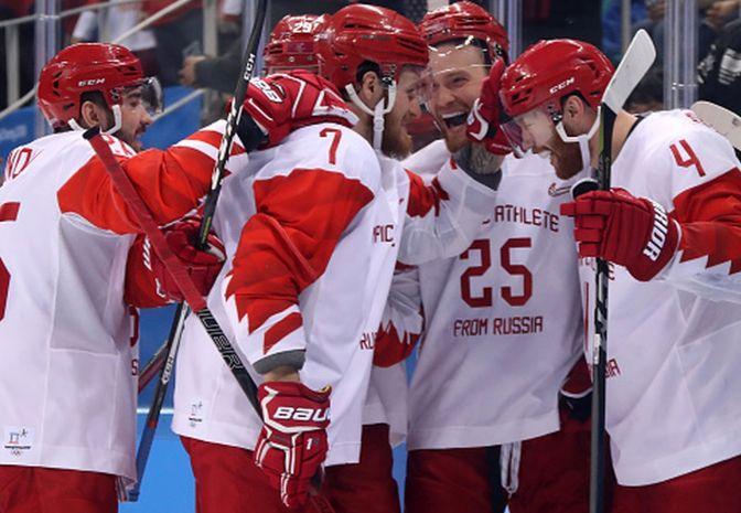 Olimpijczycy z Rosji w finale igrzysk. Nieskuteczni Czesi