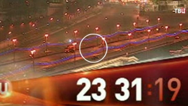 Samochód do czyszczenia ulic i tajemniczy pasażer. Jest nagranie z zabójstwa Niemcowa