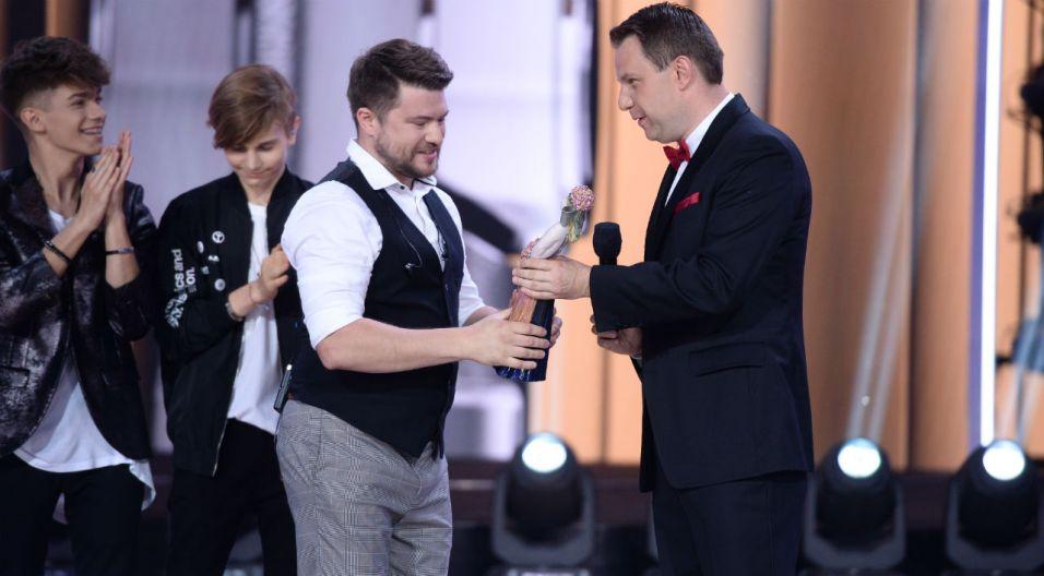 Wyjątkową nagrodę im. Karola Musioła zdobył Marcin Sójka (fot. J. Bogacz/TVP)