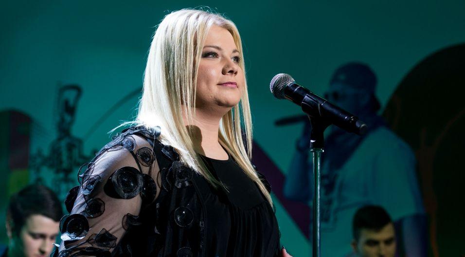 """Ich konkurentką była Beata Spychalska, widzom TVP znana z """"The Voice of Poland"""" (fot. Jan Bogacz/TVP)"""