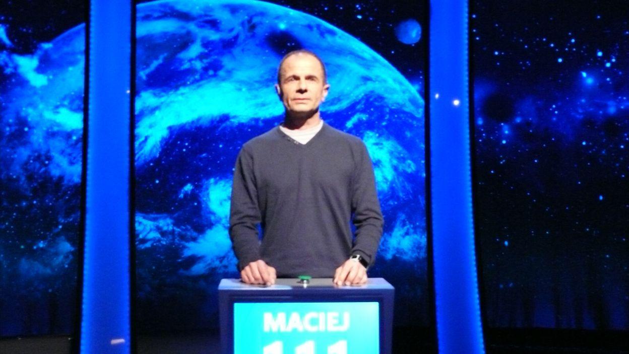 Maciej Suski - zwycięzca 16 odcinka 106 edycji