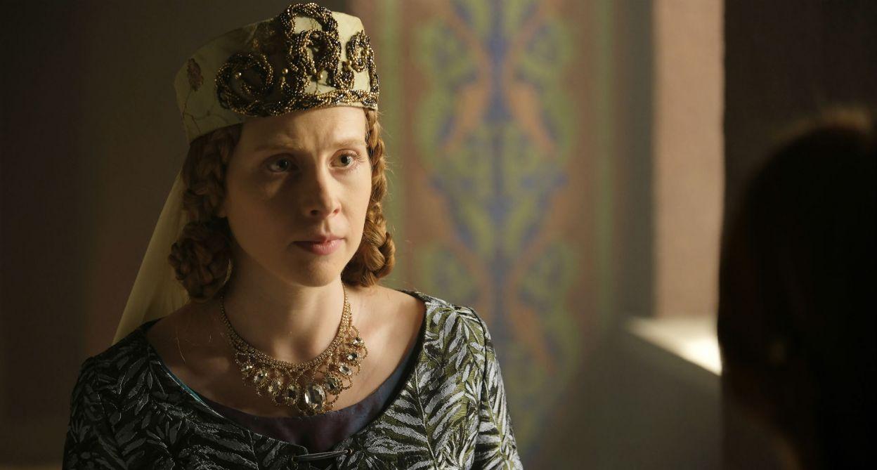 """W """"Koronie królów"""" w rolę Agnieszki wcieliła się Ewelina Pankowska (fot. TVP)"""