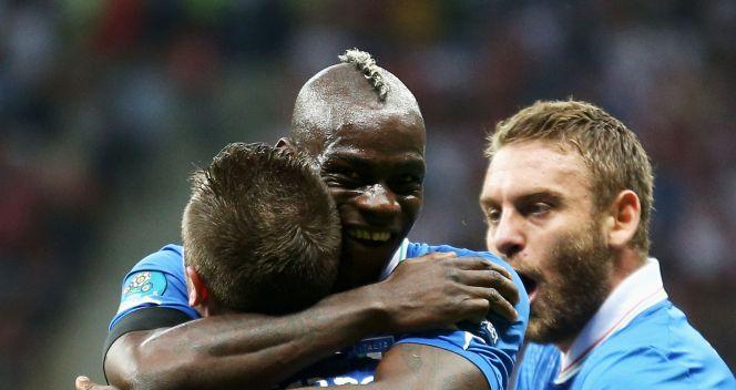 Radość Włochów po pierwszej bramce (fot. Getty Images)