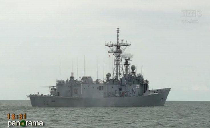 ORP Kościuszko z misją na Morzu Śródziemnym