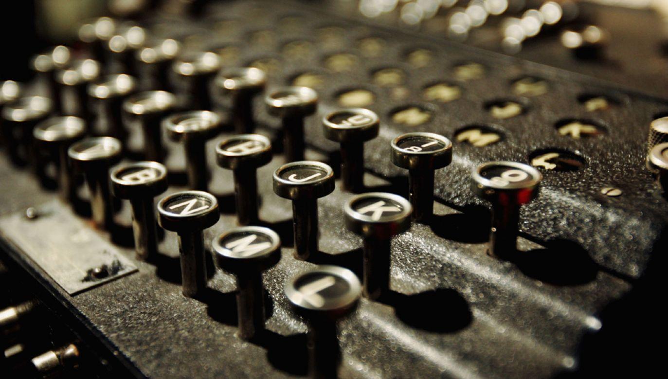 Skonstruowana w latach 20. XX wieku Enigma miała służyć utajnianiu korespondencji handlowej (fot. Ian Waldie/Getty Images)
