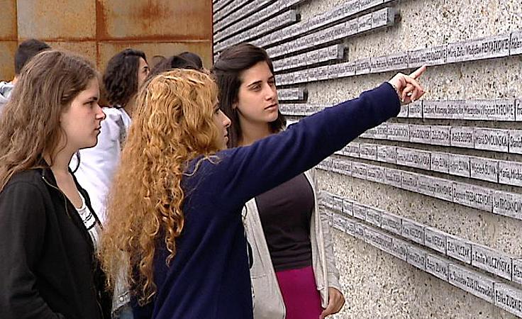 Żywa lekcja historii dla uczniów z izraelskiego liceum