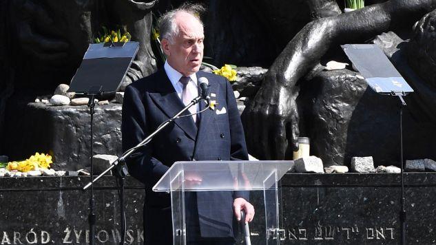 Ronald Lauder - przewodniczący Światowego Kongresu Żydów (fot. PAP/Radek Pietruszka)