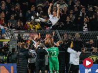 Pożegnanie Podolskiego. Niemcy vs Anglia – skrót