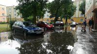 Burza na os. Leśnym w Bydgoszczy (fot. Karol Szymak)