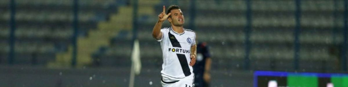 Liga Europy: 4. runda kwalifikacji: Legia Warszawa -Sheriff Tiraspol