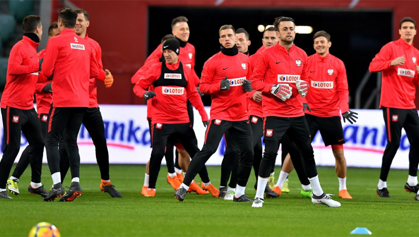 Reprezentacja Polski zagra w piątek z Nigerią, a we wtorek z Koreą Płd. (fot. PAP/Maciej Kulczyński)