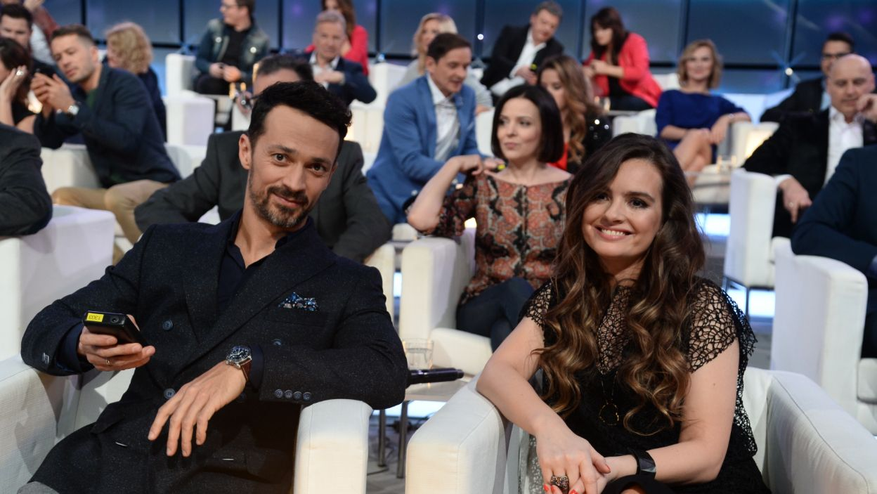 W programie brali udział także: Rafał Cieszyński i Maria Niklińska (fot. TVP)