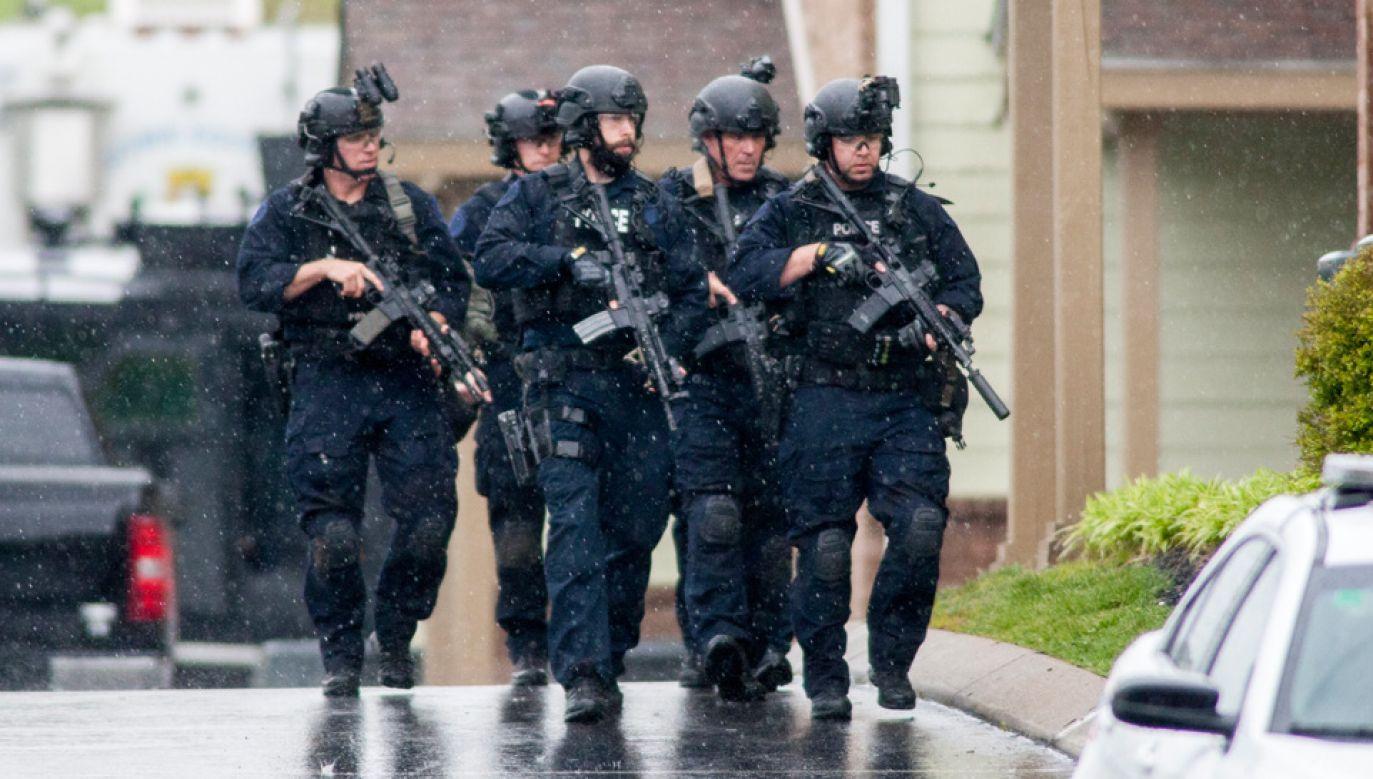 Trwa policyjna obława (fot. PAP/EPA/RICK MUSACCHIO)