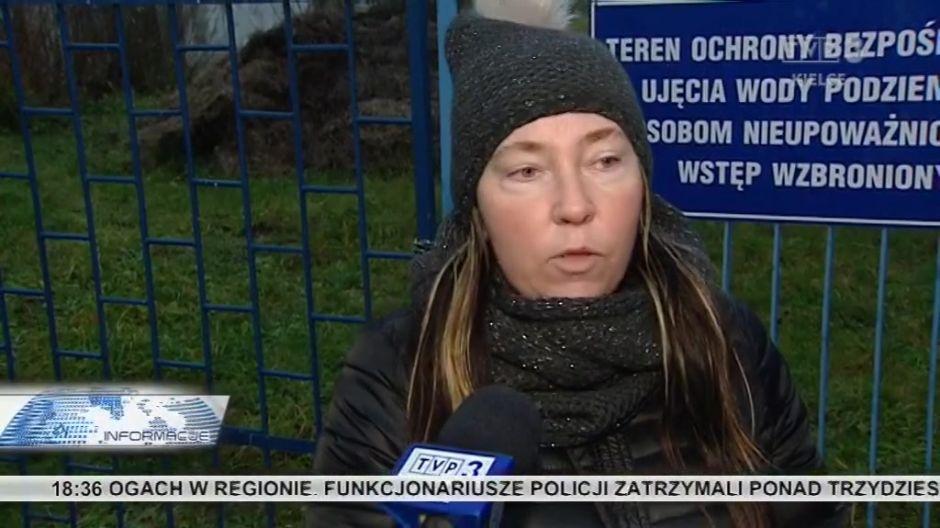 Skażona woda w Mójczy. Ujęcie w gminie Daleszyce