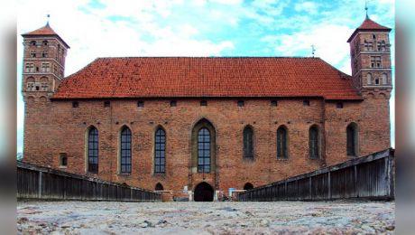 List ukryli prawdopodobnie robotnicy, którzy w 1928 roku przeprowadzali remont zamku. (Fot. Wikipedia).
