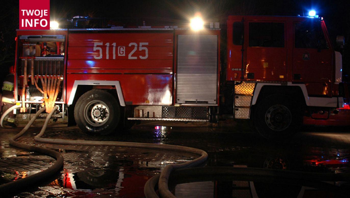 Przyczyny pożaru oraz śmierci dwóch osób wyjaśni śledztwo (fot. Twoje Info)