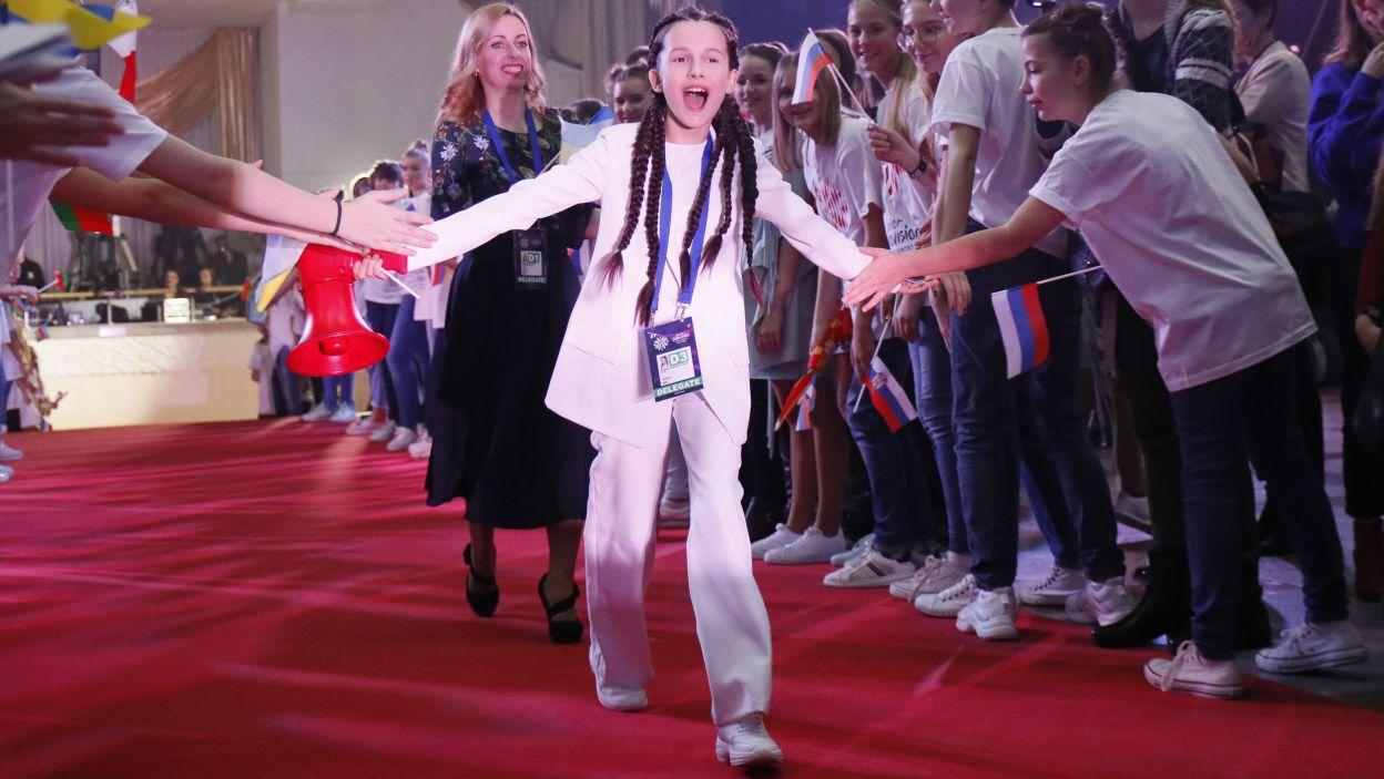 Konkurs otworzy występ Dariny Krasnoweckiej z Ukrainy (fot. Andres Putting/Eurovision)