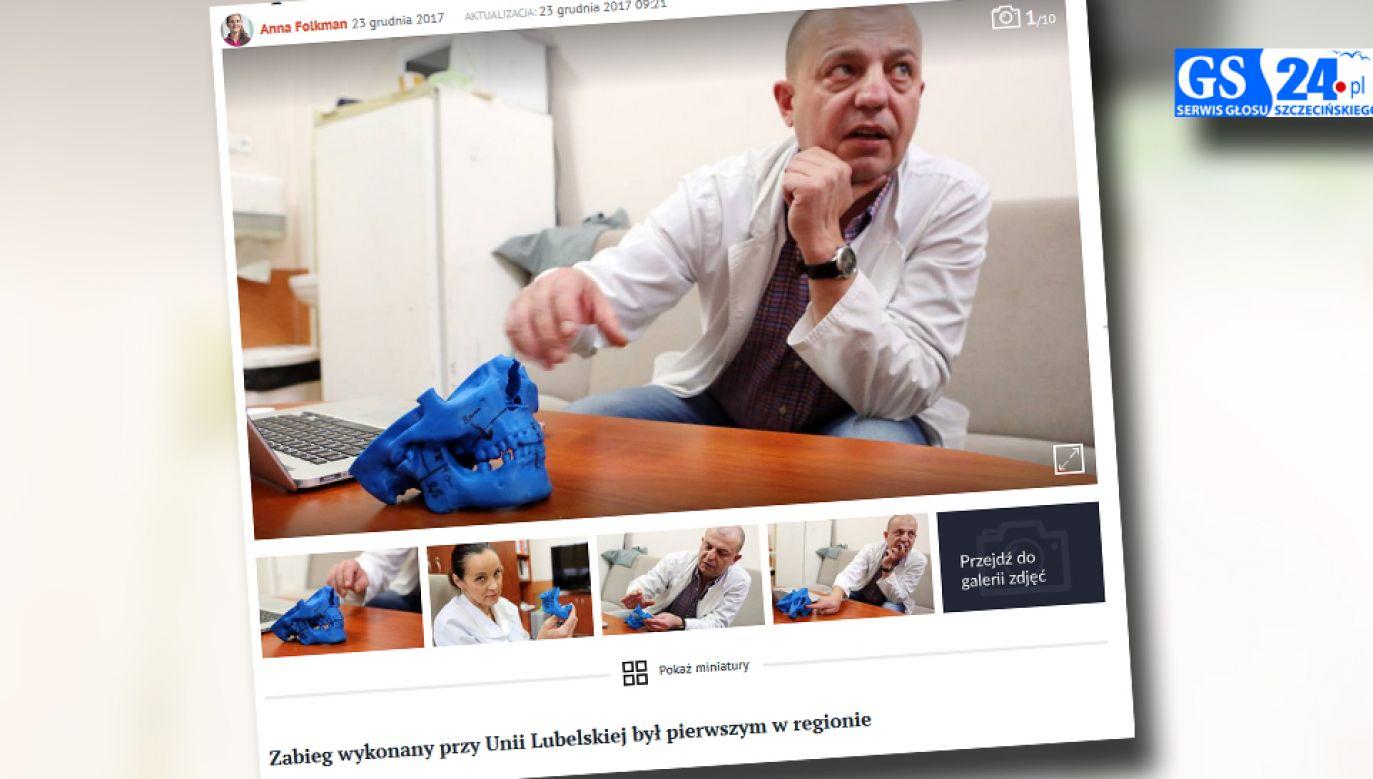 Szczecińscy lekarze wykonali skomplikowaną operację (fot. Gs24.pl)