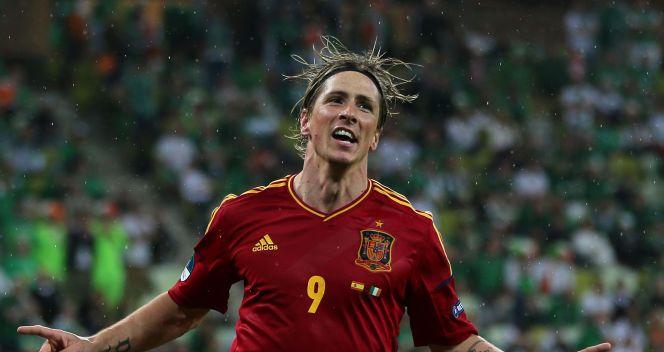 Fernando Torres cieszy się ze swojego drugiego gola (fot. Getty Images)