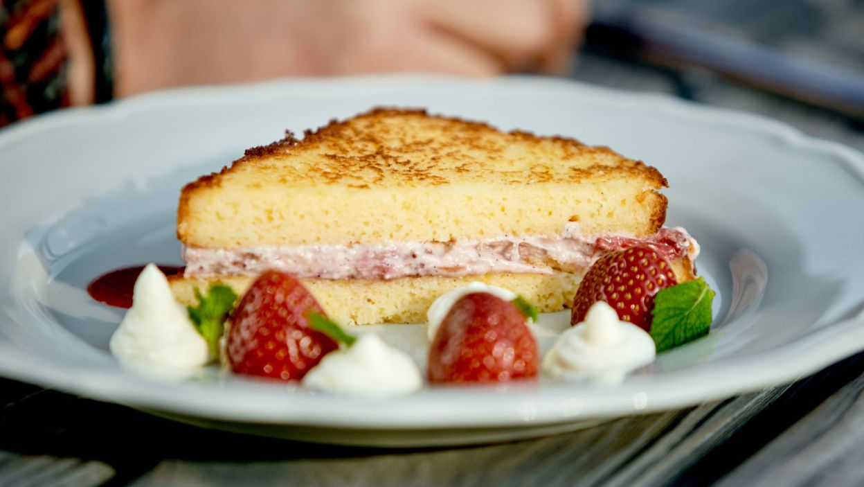 Kto by się oparł takiemu tostowi? (fot. TVP)