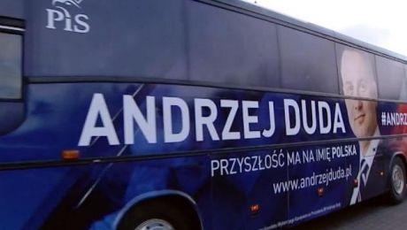 Dudabus dotarł na Warmię i Mazury
