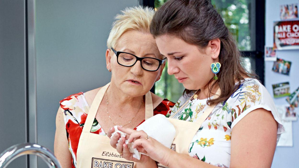 Elżbieta i Katarzyna jak zwykle są skupione na zadaniu. A może poważne miny to tylko pozory? (fot. TVP)