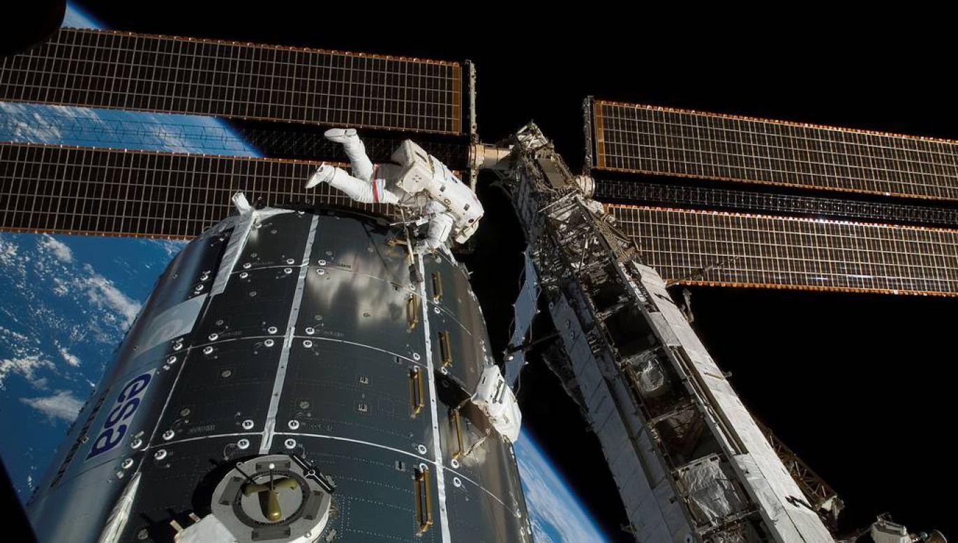 Międzynarodowa Stacja Kosmiczna ISS (fot. NASA)