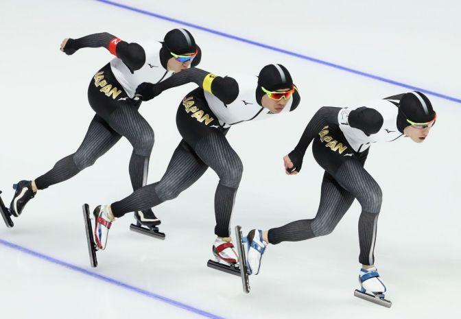 Świetna jazda Koreańczyków w drużynie