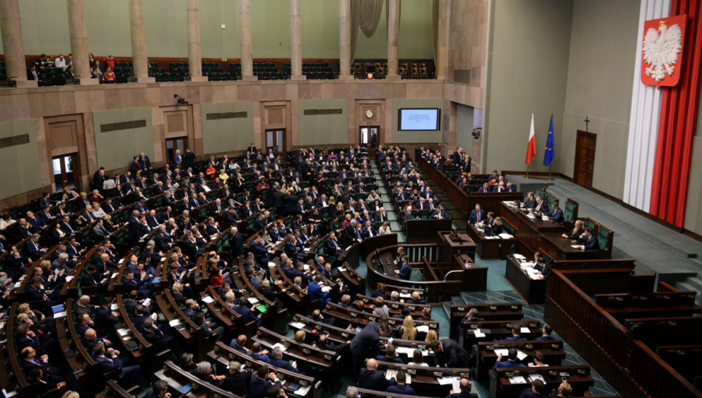W Sejmie debata po informacji ministra spraw zagranicznych Jacka Czaputowicza  (fot. PAP/Jakub Kamiński)