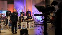 """12. Muzycy z zespołu """"United States Air Forces in Europe"""" w TVP3 Rzeszów"""