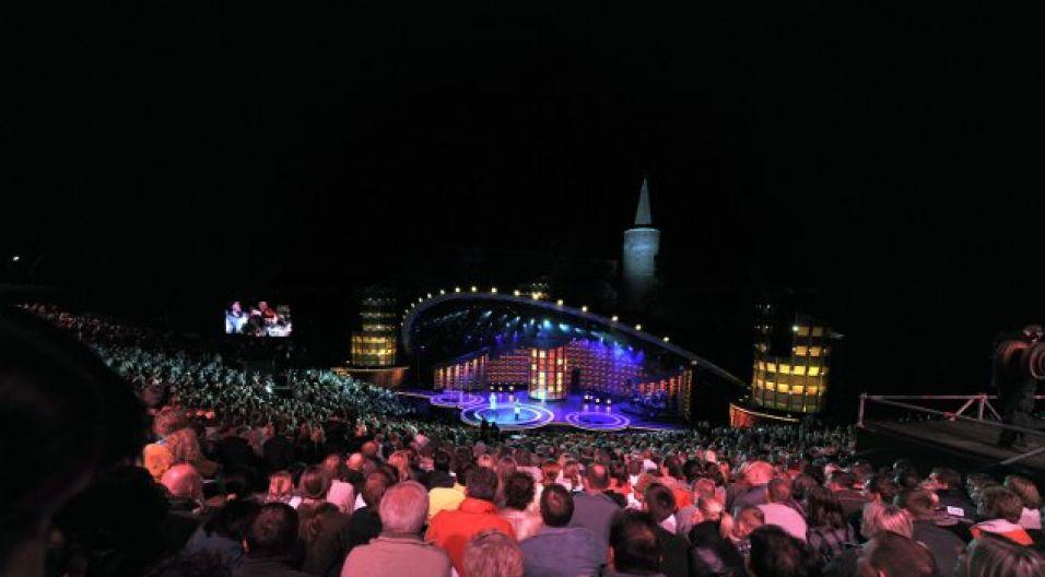 Jakie jeszcze niespodzianki czekają widzów w opolskim amfiteatrze? (fot. Jan Bogacz/TVP)