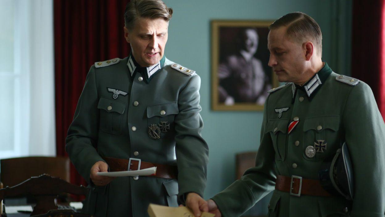 Gestapo nie może się dowiedzieć o prawdziwych przyczynach samobójstwa Dietricha (fot. TVP)