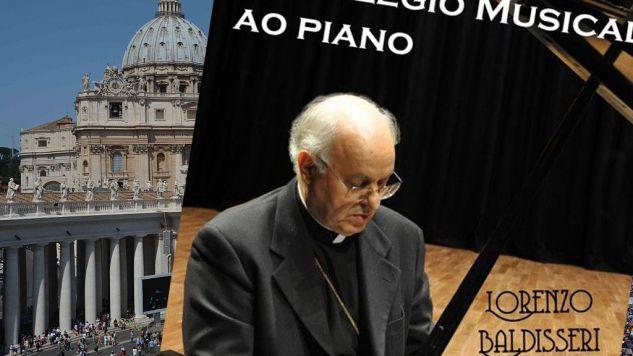 Kardynał Baldisseri  nagrywa płyty z muzyką klasyczną (fot. Alvaro Padilla/Anadolu Agency/Getty Images)/http://www.allmusic.com)