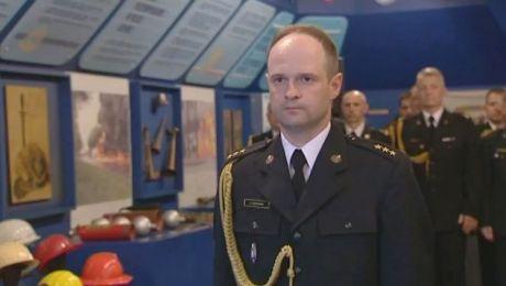 Łukasz Kochan od początku maja pełnił obowiązki komendanta w elbląskiej jednostce
