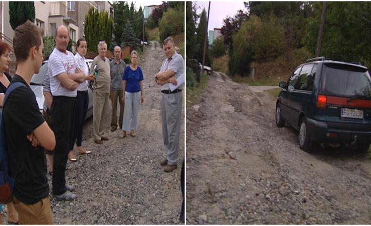 Od prawie 40 lat walczą o budowę drogi