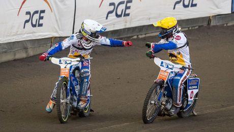 Bartosz Smektała (kask biały) i Dominik Kubera (kask żółty) (fot. PAP)