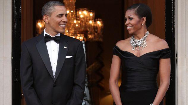 Michelle i Barack Obamowie tworzyli piękną prezydencką parę przez 8 lat (fot. WPA Pool - Getty Images)