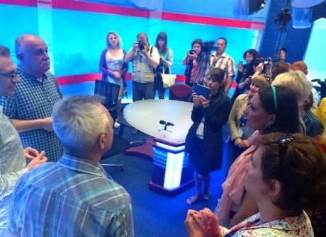 Wizyta dziennikarzy z Ukrainy