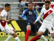 Mistrzostwa Świata w Piłce Nożnej Rosja  2018 - Skrót meczu Francja – Peru