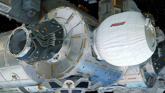 Moduł BEAM został wyniesiony w przestrzeń kosmiczną 8 kwietnia 2016 r.  (fot. NASA)