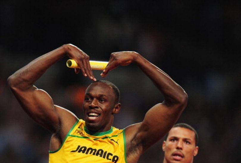 Usain Bolt poprowadził jamajską sztafetę 4x100 m do złotego medalu (fot.Getty Images)