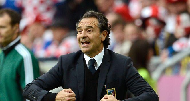 Trener Włochów Cesare Prandelli (fot. Getty Images)