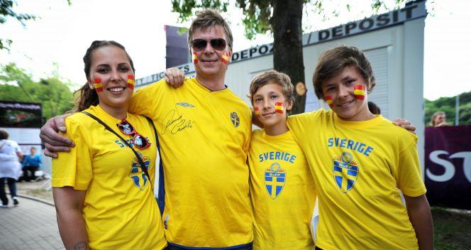 W Szwecji też kochają piłkę nożną (PAP/Piotr Pędziszewski)