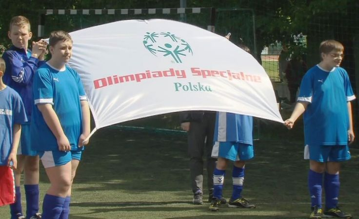 80 zawodników wzięło udział w specjalnej olimpiadzie.