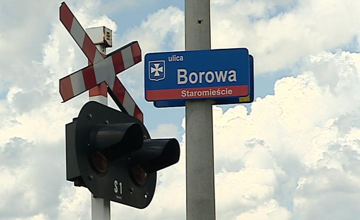 Bezpieczniej na przejeździe kolejowym na ul. Borowej