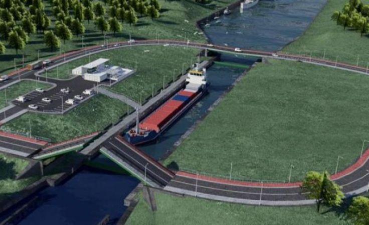 Koszt budowy nowej drogi wodnej to około 880 mln złotych