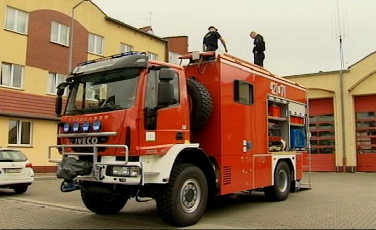 Strażacy mają nowy samochód ze sprzętem dla płetwonurków