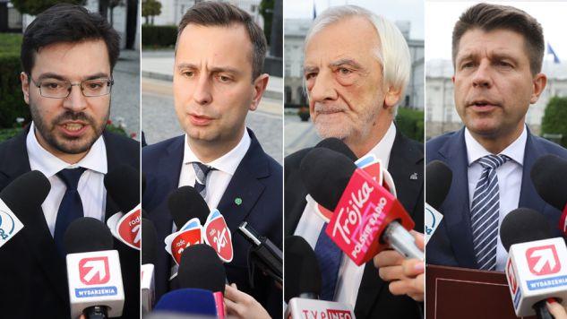 Politycy czołowych partii odmiennie oceniają prezydencki pomysł na reformę sądownictwa (fot. PAP/Rafał Guz)