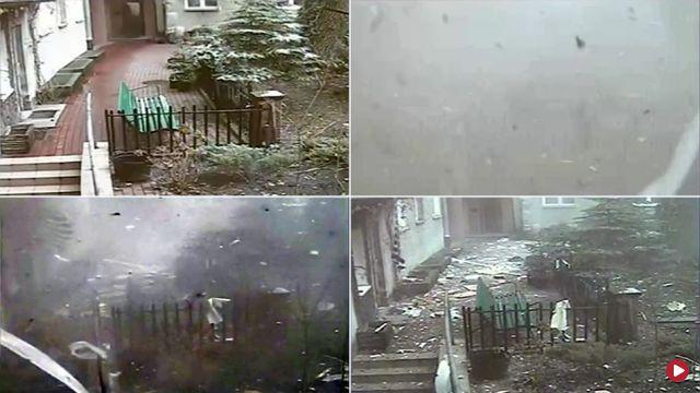 Wybuch w kamienicy w Warszawie. Zobacz nagranie z monitoringu